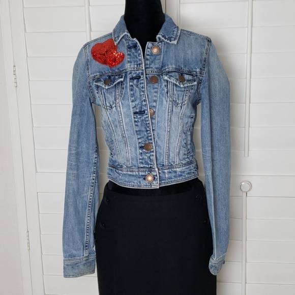American Eagle Outfitters Jackets & Blazers - American Eagle denim jacket size xs